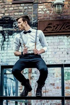 32 Suspenders Ideas for Men's Fashion | Outfit Ideas HQ Women, Men and Kids Outfit Ideas on our website at 7ootd.com #ootd #7ootd
