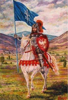 A descriptive look at the 1389 Battle of Kosovo between Serbia and the Ottoman Empire Battle Of Kosovo, Warrior Paint, Serbia And Montenegro, Belgrade Serbia, Knight Armor, Knights Templar, Medieval Fantasy, 14th Century, Bosnia And Herzegovina