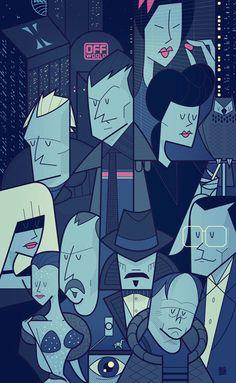 Blade Runner Movie themed designs