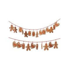 Xmas Gingerbread Advent calendar border background found on Polyvore