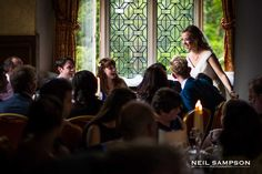 The bride's speech! <3 Grim's Dyke Wedding: http://www.grimsdyke.com/weddings-in-harrow/information/  <3 Photo Credit: Neil Sampson Photography http://www.neilsampson.com/featured-weddings/feature-wedding-kate-brett/  <3 #Wedding #WeddingPhotography #Bridal #Harrow #London #GrimsDyke #BestWestern