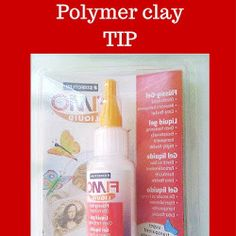 Polymer clay failures and a tip for liquid clay Polymer Clay, Soap, Bottle, Tips, Flask, Bar Soap, Soaps, Jars, Modeling Dough