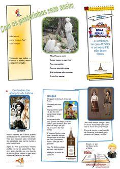 Paróquias de Santana e Ilha: Folheto - Desdobrável - Férias Catequese