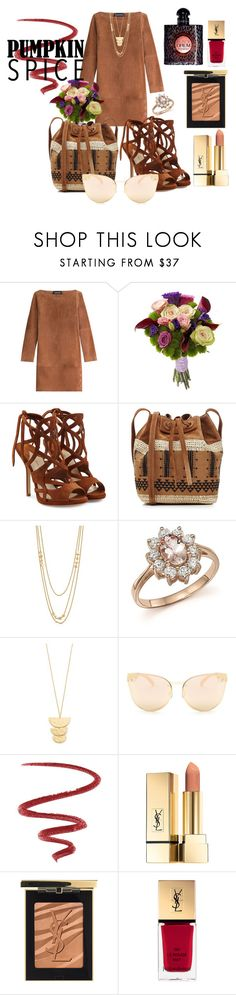"""It's Fall Yall... Part 2"" by amrinjo ❤ liked on Polyvore featuring Vanessa Seward, Paul Andrew, Vanessa Bruno, Gorjana, Bloomingdale's, Quay, L'Oréal Paris and Yves Saint Laurent"