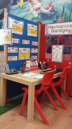 Garage Kids Role Play, Role Play Areas, Pretend Play, Play Based Learning, Learning Through Play, People Who Help Us, Play Corner, Prop Box, Transportation Unit