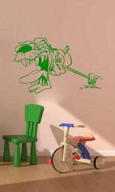 Housewares Vinyl Decal Angry Cartoon Dog Home Wall Art Decor Removable Stylish Sticker Mural Unique Design for Boy Kid Baby Nursery Room Pet Shop Decal House http://www.amazon.com/dp/B00EXP3KRI/ref=cm_sw_r_pi_dp_xxTUtb1X9E5DW6E9