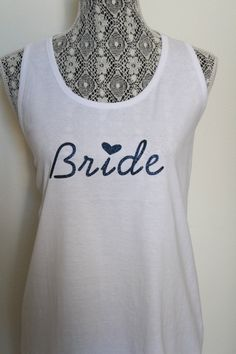 Brides Workout tank top, Motivational workout tank top, Sweating for the wedding, Yoga shirt, Getting married,  I do, Im Engaged, Engagement party,  Bridal shower gift   by ArenLace, $16.00