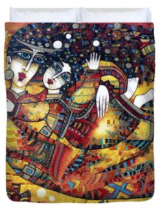 I Give You My Dreams Duvet Cover by Albena Vatcheva