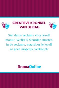 Social Work, Coaching, Drama, Education, Scouting, Kids, Dutch, Seeds, Training