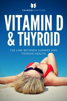 There is a close connection between vitamin D and thyroid function. One of the most effective, abundant, reliable, and natural sources of vitamin D is sunlight. Research shows that vitamin D benefi… Thyroid Symptoms, Thyroid Diet, Thyroid Issues, Thyroid Disease, Thyroid Problems, Thyroid Health, Thyroid Supplements, Hypothyroidism Diet, Thyroid Gland