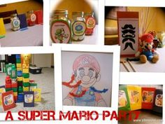 Perfect Party for boys and Super Mario lovers!  Fun party activities and games.