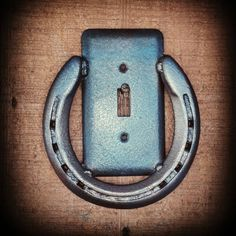 Horseshoe Light switch Cover, Rustic Home decor, Country switch plates, Rustic…