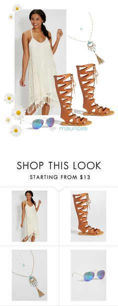 """rock this look at your next concert!"" by maurices ❤ liked on Polyvore featuring maurices"