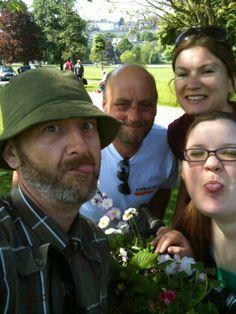 Emmaus community members take part in Handlebar Gardens at Chelsea Fringe Brighton