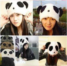 2013 de la moda Kung fu Panda sombrero gorro de terciopelo cálido invierno Proteger ENVÍO lindo del Oído del algodón libre de la gorra, MZ70 ...