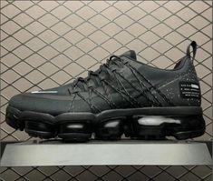 new style ae39c 441ea Nike Air VaporMax Run Utility Black White AQ8810-001