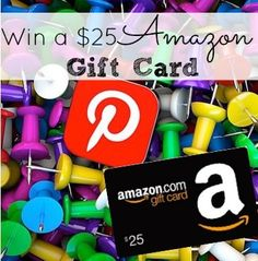 I am Giving One of you a $25 Amazon Gift Card!