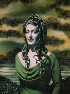 Zuleika Ponsen as 'Medusa' - By Pierre et Gilles, 1990