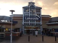 The Lakeside Shopping Centre can be found in Thurrock, Essex.