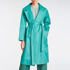 Winter Half Price SALE • duckeggBLUE Classic Trench Coat, Check Printing, Half Price, Faux Fur Jacket, Rebecca Taylor, Printed Skirts, Duster Coat, Silk, Elegant