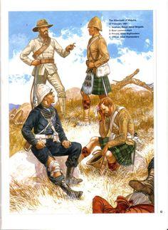 The Aftermath of February 1881 Naval Highlanders. British Army Uniform, British Uniforms, Military Art, Military History, Uk History, Ancient History, Highlands Warrior, Man Of War, Red Army