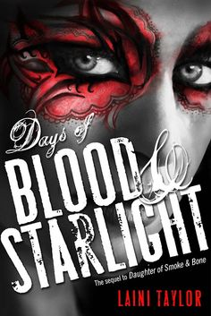Days of Blood and Starlight, by Laini Taylor  Find it at the library: http://alpha2.suffolk.lib.ny.us/record=b4546337~S29