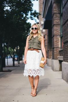 Olive + Lace