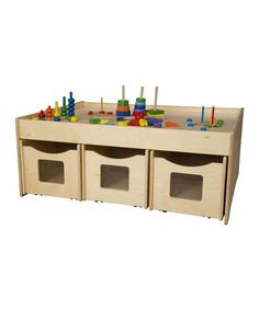 Loving this Activity Island Table on #zulily! #zulilyfinds