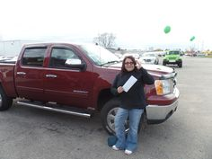 """""""I really appreciate the through attention to customer service! The employees were very open and accommodating. I will refer people looking for a good time! lol"""" -Jeanette M. Thanks Jeanette, and a BIG thanks from the Auto Group! We really appreciate the opportunity to earn your business and hope you enjoy your new GMC Sierra!"""