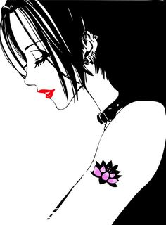 Day 5 - Anime character you feel you are most like (or wish you were)- Nana Osaki (from NANA)