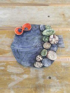 #Elyapımı #seramik #duvarpanosu # balık#handmade #ceramics # wallart # fish