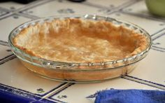 """How to Prebake a Pie Crust--Also called """"blind baking"""", it can be used for pies with no bake fillings such as cream pies."""