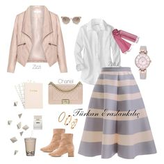 <img> Today, I have prepared for you the most beautiful skirts of each other stylish combinations. Our combination of soft tones dominates our horizontal striped skirt … - Hijab Casual, Hijab Outfit, Hijab Chic, Modest Clothing, Modest Outfits, Classy Outfits, Skirt Outfits, Casual Outfits, Muslim Fashion