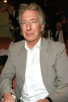 """Alan Rickman at the renaming of Albery Theatre to """"The Noel Coward Theatre"""" on June 30, 2006."""