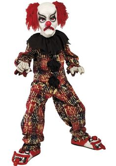 Scary Clown - Child - Child Halloween Costumes at Escapade™ UK - Escapade Fancy Dress on Twitter: @Escapade_UK