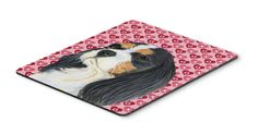 Cavalier Spaniel Hearts Love and Valentine's Day Mouse Pad, Hot Pad or Trivet