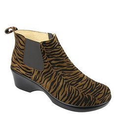 Look what I found on #zulily! Roar Ever Leather Ankle Boot by Alegria #zulilyfinds