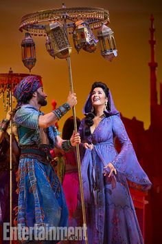 Aladdin on Broadway!