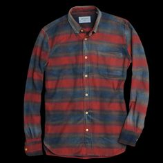 washed flannel