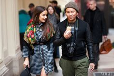 Miroslava and Tommy Ton