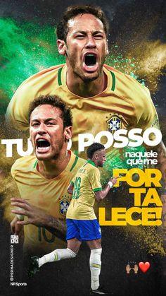 Neymar Jr, Brazil, Movies, Movie Posters, Neymar Brazil, Soccer, Frases, Films, Film Poster