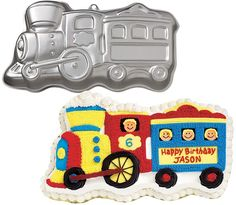 train cake pan Case of 3