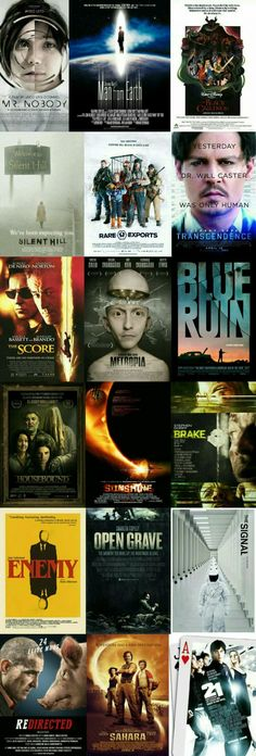 Movies must see in this lifetime. Really some mindf**k movies for my potato's lover!