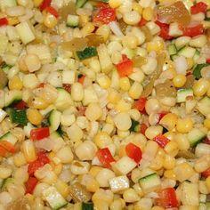 Marinated Calico Salad Recipe | Just A Pinch Recipes