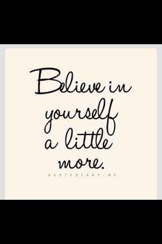 Als je in jezelf gelooft, volgen anderen vanzelf.