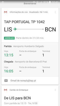 TAP disponibiliza cartão de embarque pelo Google Now :: Jacytan Melo Passagens
