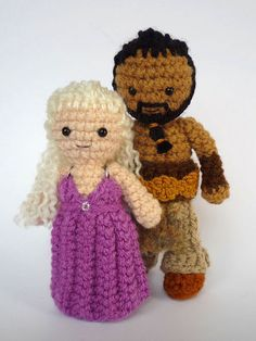 Crocheted Game of Thrones Dolls, @Emily Schoenfeld Schoenfeld Schoenfeld Chilibeck