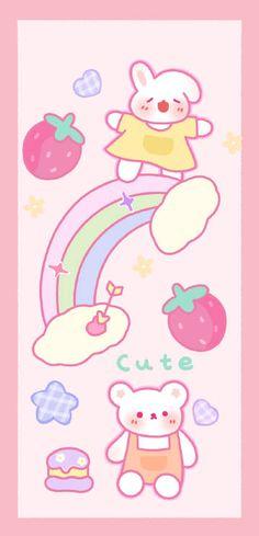 微博 Aesthetic Backgrounds, Aesthetic Iphone Wallpaper, Remake Clothes, Cute Wallpapers, Princess Peach, Pikachu, Branding, Kawaii, Cartoon