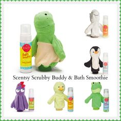 choose a Scrubby Buddy and a Bath Smoothie for fun bath time. This foaming, sulfate-free hair and body wash gently cleans from head to toe, leaving nothing behind but smiles and heavenly fragrance. Available in all Kids fragrances. #scentsy #children #bath
