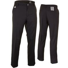 35% OFF RRP Adidas Golf Mens Tech Flat Front Pant Trousers Smart Performance